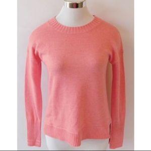 J Crew Pink Crewneck Sweater Size XXS NWT